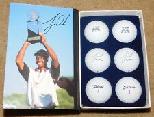 Titleist 1996 Tiger Woods 1st Win Las Vegas Invitational Limited Golf Ball Set