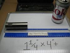 "RARE COSTLY IMPLANT GRADE Titanium Alloy 6al-4v ELI bar rod stock 1 1/4"" x 4""+"