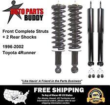 2 Front Complete Struts + 2 Rear Shocks w/Warranty Free Shipping-4Runner 4X4 v6