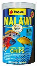 CICHLID MALAWI MBUNA FISH FOOD, SPIRULINA TROPICAL AQUARIUM MALAWI FISH FOOD