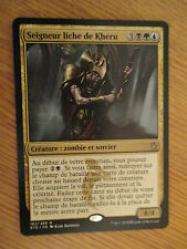 x1 Carte Magic MTG Seigneur liche de Kheru rare VF (Les Khans de Tarkir)