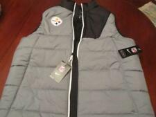 Nike On Field Pittsburgh Steelers Puffer Vest Mens Large NWT