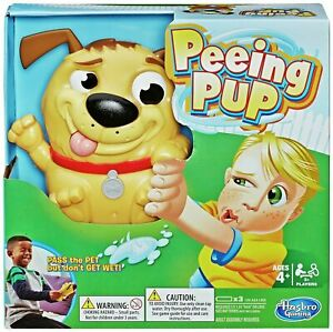 Hasbro Gaming 2+ Player Peeing Pup Children's Party Game