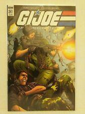 IDW G.I. JOE A Real American Hero # 241 plus bonus free comic