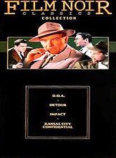 Film Noir Classics Collection: D.O.A. / Detour / Impact / Kansas City Confiden.