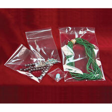 "100 2 ½"" x 5"" Clear Self Seal Lip & Tape Plastic Bags Cello OPP Polypropylene"