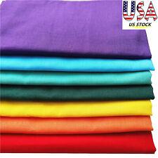 7pcs Rainbow Series100% Cotton Fabric Pre-Cut Sewing Fat Quarter Bundle US STOCK