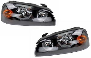 Pair of Headlights Hyundai Elantra XD 09/03-07/06 New Front Lamps 04 05 06