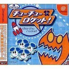 USED Chu Chu Rocket! Japan Import Sega Dreamcast