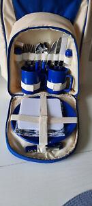 Picknick Rucksack mit Geschirr für 2 Personen