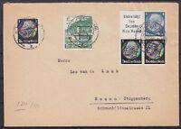 DR ZD S 211, S 171, 512, 753 MiF auf Brief Mülheim Ruhr - Essen 30.11.1940