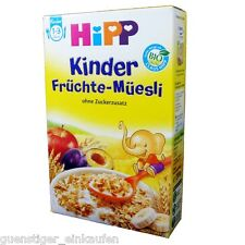 (19,05€/kg) 200g Hipp Kinder Früchte Müsli Müesli ohne Zuckerzusatz Bio 1-3 Jahr