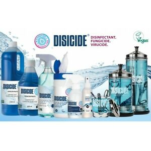 Disicide Disinfectant Glass Jar For Salons, Barbers, Spa - All Sizes Available