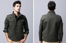 Baumwolle Militär Jacke Männer 2020 Herbst Soldat MA-1 Stil Armee Jacken