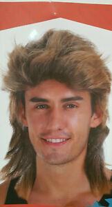 Fancy Mullet Wig 70s 80s Rock Bogan Party Fancy Accessory