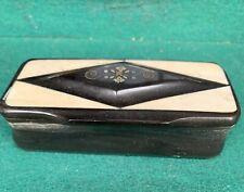 Victorian Scottish Horn Snuff Box