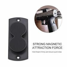 Rifle Magnetic Holder Car Under Desk Mount Safe Stand Magnet Holster Gun Pistol