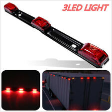 "3LED Tail Light Truck/Trailer 14"" Red 3 LED Light Rear Lamp Bar For Ford/F15"