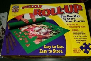 """Master Pieces Puzzle Roll-Up Mat 36"""" x 30"""" Up To 1000 Pieces"""