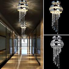 Design Deckenleuchte Kristall Kronleuchter Flur Leuchte Deckenlampe Lampe Lüster