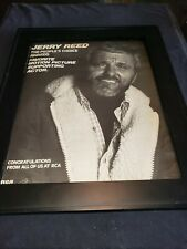Jerry Reed People's Choice Awards Rare Original Promo Poster Ad Framed!