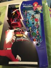 Power Rangers W.I.T.C.H McDonald's Happy Meal Toys Display From Restaurant 2005