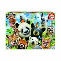 Educa Borras - Llama Drama Selfie 1000 Piece Wildlife Jigsaw Puzzle UG18117