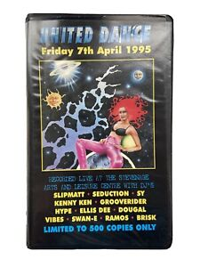 United Dance (7-4-95) Rave Tapes (Complete Pack) Limited Edition 500