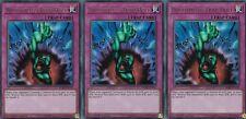 YUGIOH CARD 3 X BOTTOMLESS TRAP HOLE - BLRR-EN101 ULTRA RELENTLESS REVENGE