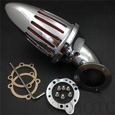 Bullet Air Cleaner Filter Kits For Harley S&S Custom Cv Evo Xl Sportster Chrome