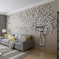 3D Acrylic Wall Sticker Diy Art Tv Background Wall XXLarge Size Tree Decorative