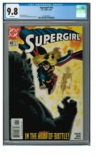 Supergirl #43 (2000) DC Kirk Riggs Cover CGC 9.8 White Pages GG823