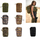Open Top Zipper Tactical Molle Utility Organize Medic Pouch Bag For Backpack