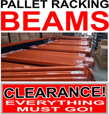 NEW Pallet Racking Beams Warehouse Shelving Length 2.5m $50 Melbourne Delivery