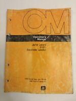 John Deere 310c Backhoe Loader Operators Manual