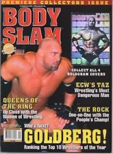 Body Slam Magazine - BILL GOLDBERG - Premiere Collectors Issue #1 - Brand New!