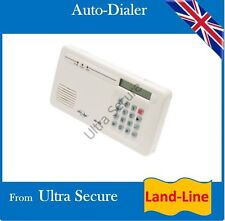 Land-line Auto-Dialler for use with many types of Security Panels (must be N/C)