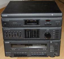 Stereoanlage Hifi 8400 von ITT Nokia m. Verstärker und Kassettendeck