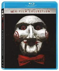 Saw: 8 Film Collection (Blu-ray + DVD)