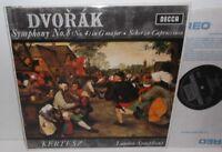 SXL 6044 Dvorak Symphony No.8 & Scherzo Capriccioso LSO Istvan Kertesz N/B