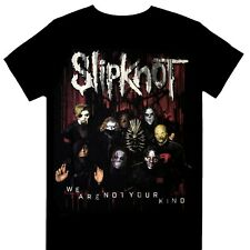 Slipknot - W.A.N.Y.K. We Are Not Your Kind Group Red Official Licensed T-Shirt