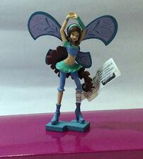 Winx Club Figure Rubber Flora Tecna Stella Layla Bloom Roxy Muse Comansi 92179