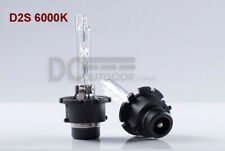 A PAIR 35W D2S Xenon HID Bulbs Globe Replacement Pure White 6000K - METAL FRAME