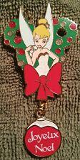 DISNEY DLRP PARIS 2014 TINKER BELL CHRISTMAS WREATH LE 700 JOYEUX NOEL PIN