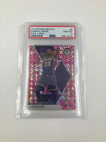 2019-20 PANINI MOSAIC LEBRON JAMES PINK CAMO PSA 10! LAKERS
