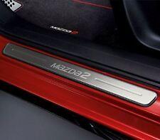 Genuine Mazda2 (2015) Stainless Steel Scuff Plate Set of 2 DA6CV1370