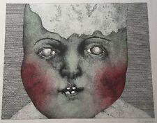große Farblithographie Probedruck handsigniert Reiner Schwarz