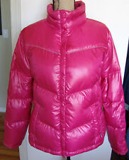 Columbia Down Puffy Puffer Coat Size Large Jacket Parka Snowflake Insulated