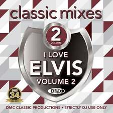DMC Elvis Vol 2 Megamixes & Two Trackers Mixes Remixes Ft Cliff Richard DJ CD
