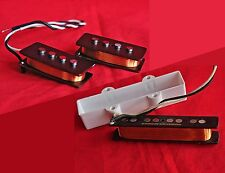 Jaspe sanguin handwound precision/Jazz PJ BASS alnico 5 Pickup Set